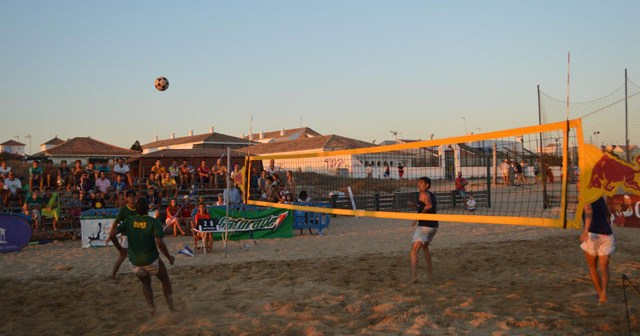Open de futvoley en Punta Umbría.