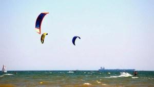 Torneos de kite surf y paddel surf en Punta Umbría.