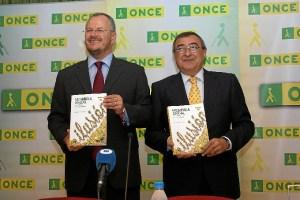 Responsables de la ONCE en Huelva.