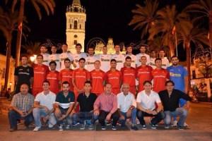 Plantilla y cuerpo técnico  de La Palma CF.