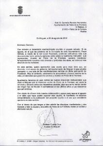 carta Alcalde Moguer