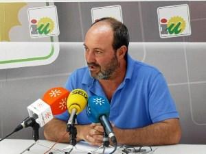 Pedro Jimenez, portavoz IU Ayuntamiento Huelva RP 15 septiembre 2014