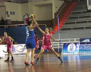 María Pina, jugadora del CB Conquero Huelva Wagen.