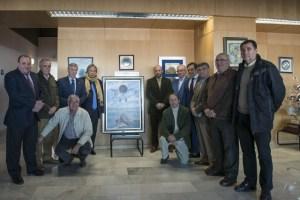 Homenaje de los veteranos del Recreativo de Huelva a José jiménez.