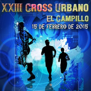 Cartel del Cross Urbano de El Campillo.