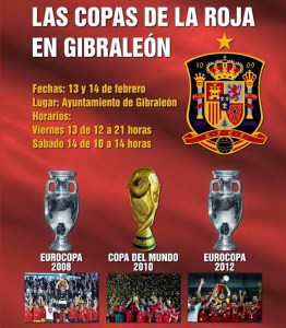 Copas de la Roja en Gibraleón.