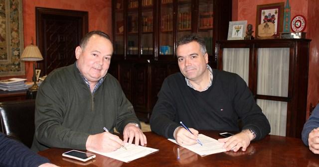 Convenio entre el Ayuntamiento de La Palma y el CB La Palma.
