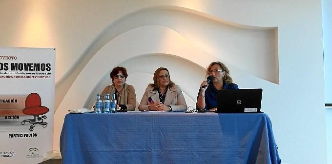 Maria Luisa Faneca, en el centro ha inaugurado las Jornadas