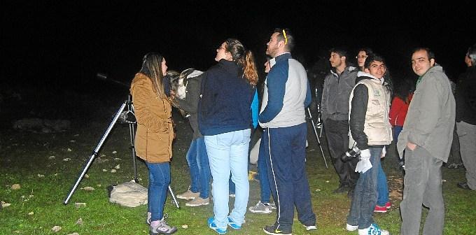 Noche Astronomica de Invierno