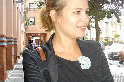 Sonia Ponce, candidata de IU en Valverde del Camino