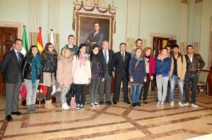 Visita alumnos Erasmus
