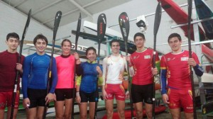 Piragüistas del Tartessos Huelva.