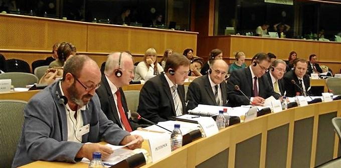 2009-09-02-comparecencia-pedro-jimenez-comision-de-peticiones-ue1