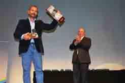 Augusto García, uno de los homenajeados en la Gala del Deporte de Isla Cristina.