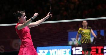 Carolina Marín en el Open England.