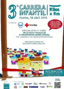 Cartel 3 Carrera Infantil