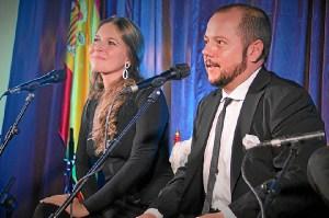 Rocío Márquez y Jeromo Segura