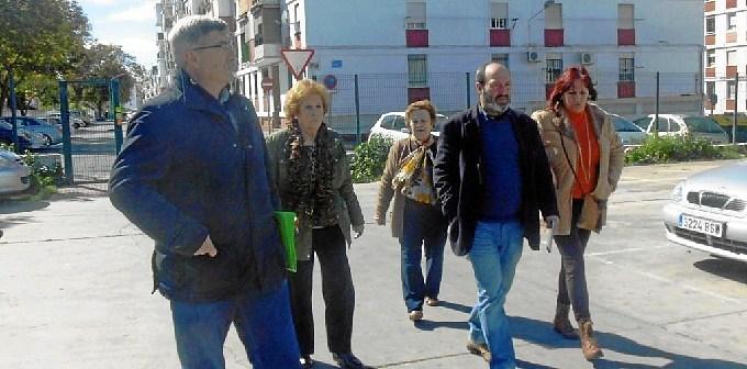 Visita Grupo Municipal IU a El Carmen
