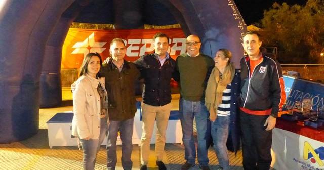 Carrera Nocturna Cepsa en Moguer.