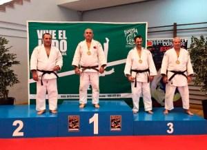 Francisco Salas, campeón de España de veteranos de judo.