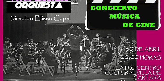 Cartel Orquesta VM Cartaya 30 Abril