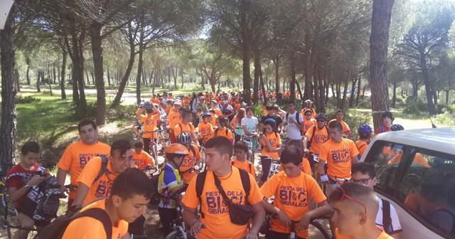 Fiesta de la Bici en Gibraleón.