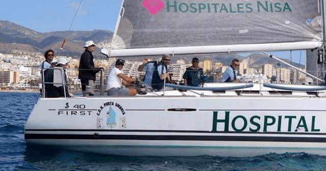 Hospitales Nisa, vencedor de la regata.