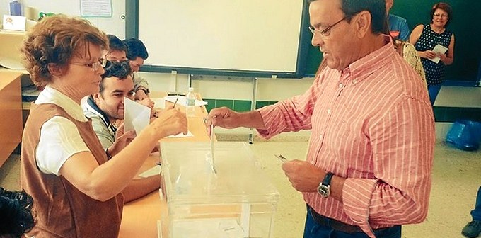 Caraballo voto municipales