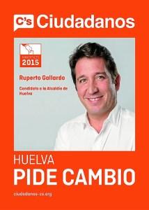 Ciudadanos Huelva pide cambio SIN VOTA