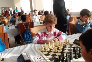 Dani Sierra, joven ajedrecista moguereño.