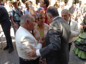 Emigrantes-20150520 Subdelegado desea feliz camino a hermana mayor Emigrantes