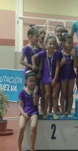 Gimnasia rítmica en Paterna del Campo.