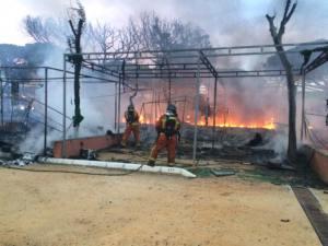 incendio en el camping de la bota punta umbria-1