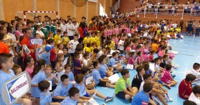 Clausura de las Escuelas Deportivas Municipales en Moguer.
