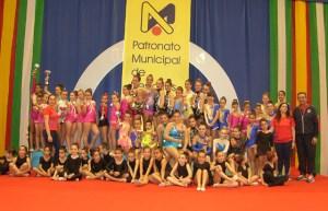 Torneo de gimnasia rítmica en Moguer.