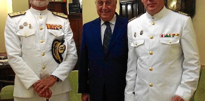20150630 Visita Almirante de la Flota de la Armada