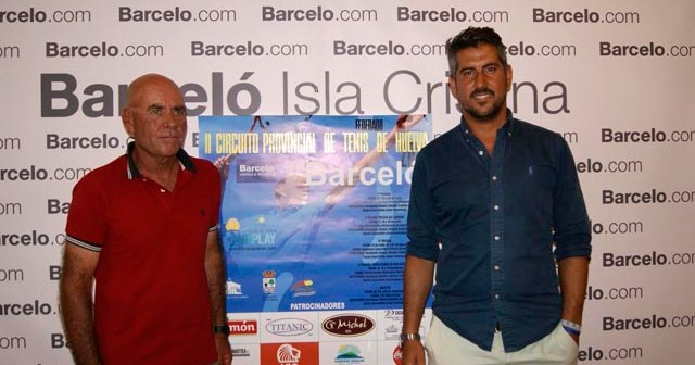 Presentación del Circuito de tenis en Isla Cristina.