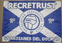 Bandera del Recreativo Supporters Trust.