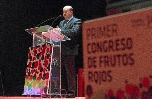 Congreso de frutos rojos.