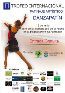 Torneo de patinaje artístico en Aljaraque.
