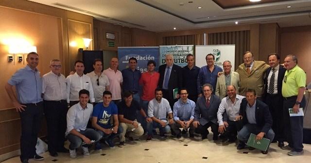 Presentación del Congreso Mundial de Entrenadores Centenario RFAF (1915-2015).