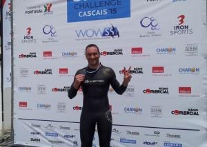Rubén Gutiérrez, nadador onubense.