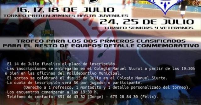 Trofeo 'El Colegio' de fútbol sala en La Palma del Condado.