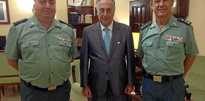 20150710 Subdelegado felicita guardia civil medalla Plan Nacional Drogas