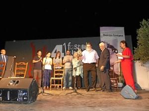 Moguer festival flamenco. homenaje