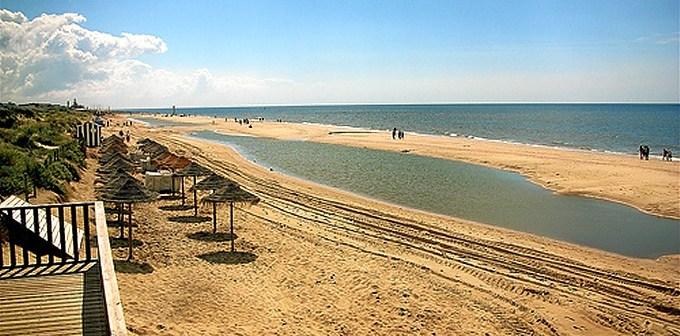 Playa de Islantilla.