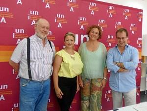 javier sierra y juan eslava en la UNIA-79_z