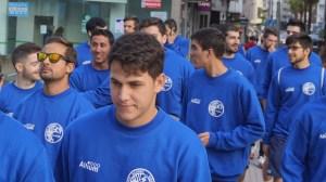 Alejandro Capelo, jugador del PAN Moguer.