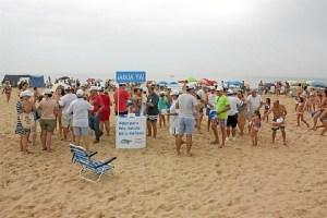 Plataforma playa