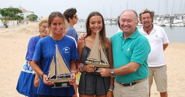Entrega de trofeos de la regata Trofeo Presidente en Punta Umbría.